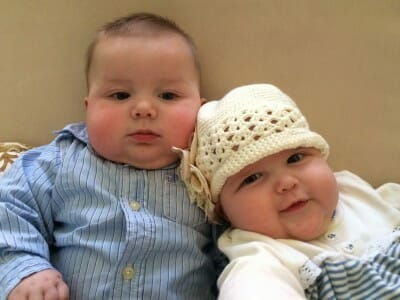 Anna's Twins conceived naturally after failed IVF with Fertile Heart Tools
