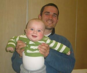 A 25 year old Israeli father with his infant son killed in a terrorist attack in 2011