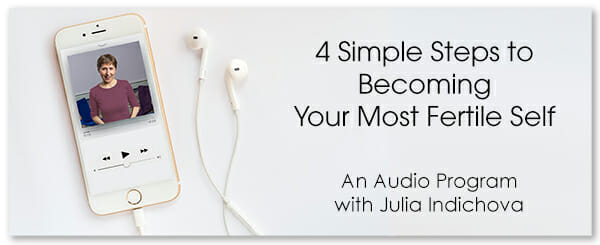 Fertile Heart Audio Podcast - 4 Simple Steps to becoming you most fertile self