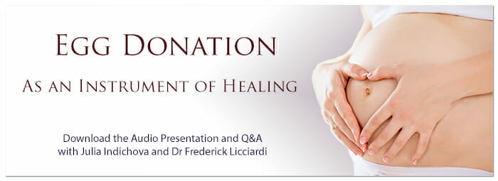 Egg donation Pregnant belly download the audio presentation here