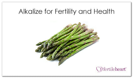 Asparagus - Alkalize for Fertility and Health