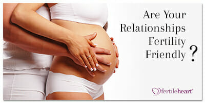 Embracing Pregnant Couple Fertile Heart Tools for a Fertility Friendly Relationship
