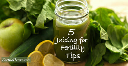 Fertility Juice Ingredients; Fertility Foods: 5 Juicing for Fertility Tips
