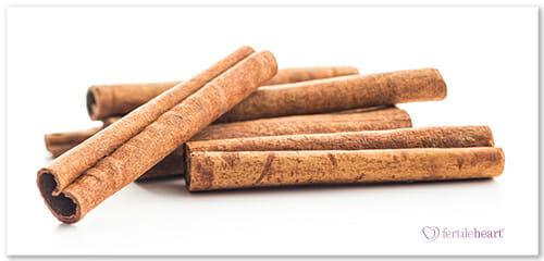 Cinnamon Sticks - A Fertility Boosting Food