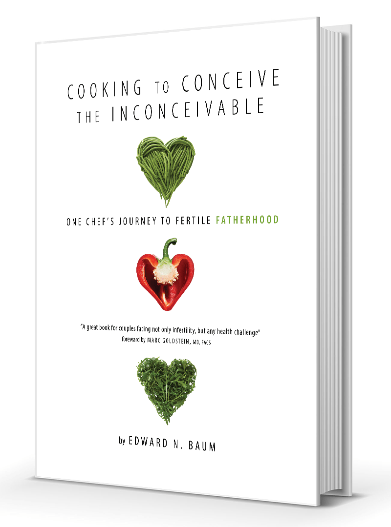 Cooking to Conceive the Inconceivable - Book Cover