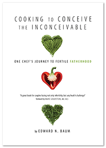 Cooking to Conceive the Inconceivable Cover - Fertile Heart Chef Edward Baum