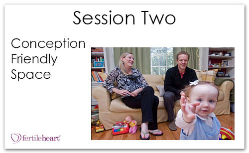 Family in Living Room Meeting Your Child Halfway Video Series Session 2 Conception Friendly Space