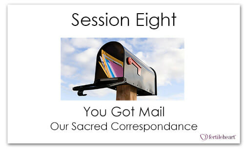 Open Mailbox with Letters Meeting Your Child Halfway Video Series Session 8 You Got Mail