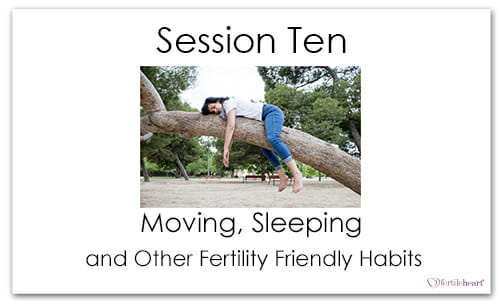 Woman Sleeping on tree Meeting Your Child Halfway Video Series Session 10 Moving Sleeping