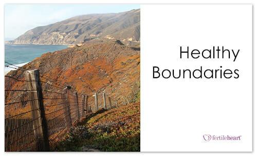 Fence on Cliffs overlooking Ocean; Healthy Boundaries
