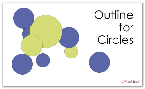 Colored Circles; Outline for Circles