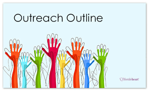Colorful Raised Hands; Outreach Outline