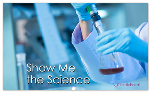 Lab Technician holding beaker; show me the science