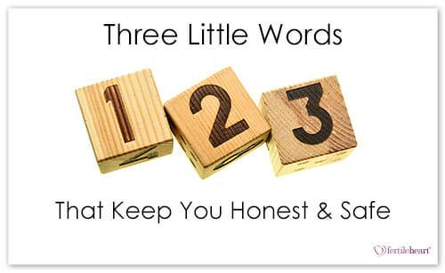 Three Wood Blocks; 3 little words