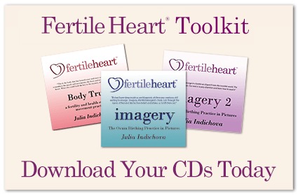 Fertile Heart Toolkit Imagery and BodyTruth CDs