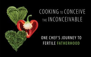 Cooking to Conceive Vegetables in Heart Shape