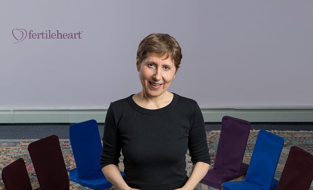 Julia Indichova in Fertile Heart Studio