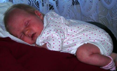 Infertility Sucks Fertile Heart Success Story Nina and her Newborn