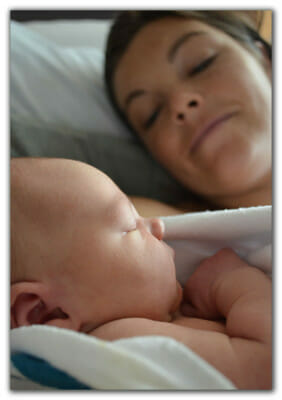 Mom with fertile Heart Baby