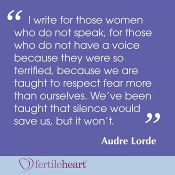 I write for these women Quote by Audre Lorde