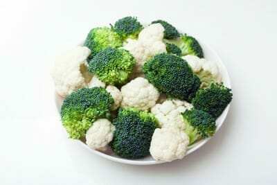 Broccoli and Cauliflower in Bowl - Fertility Foods