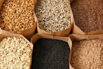 Assorted Whole Grains good for Fertility