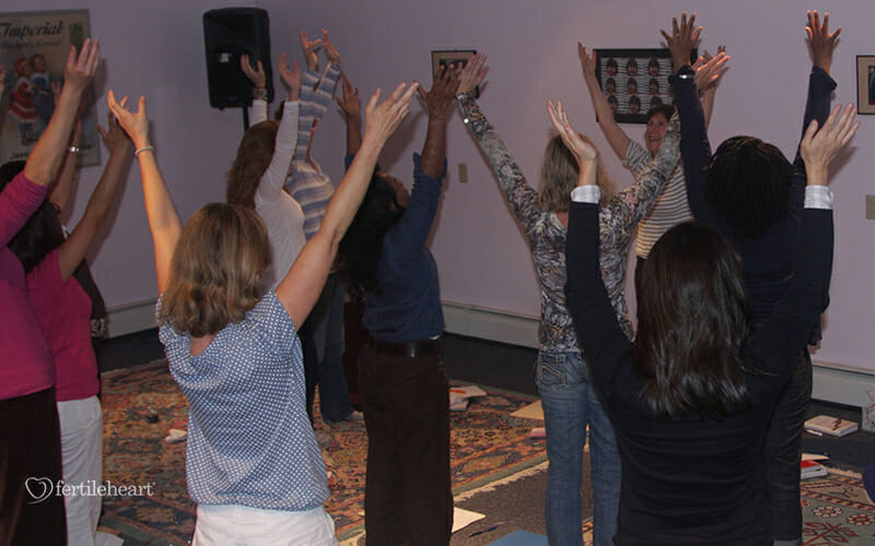 Arms Extended Fertile Heart Workshop with Julia Indichova