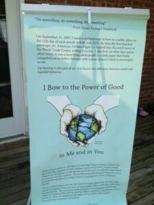 I Bow to the power of good | fertile heart