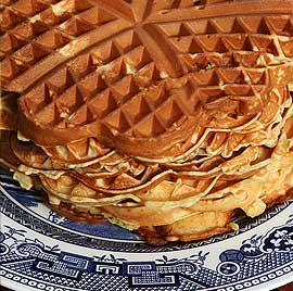 Buckwheat Waffles - fertility diet