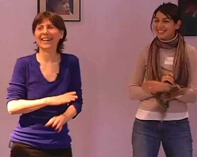 Julia Indichova leads the Fertil Heart fertility workshop